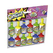 Pack of 12 Party Poppers